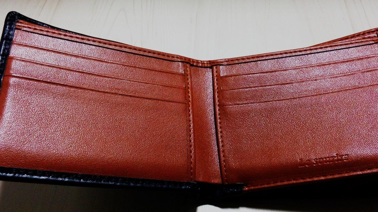 2つ折財布のオリジナル画像